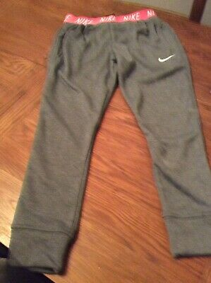 Nike Girls Slim Fit Joggers Size Small Age 10-12