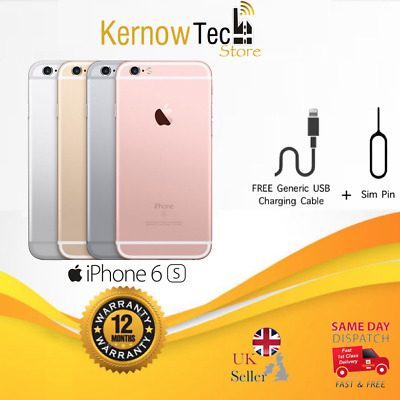 Apple iPhone 6S - 16/32/64/128GB - UNLOCKED - Various Colours - All Grades