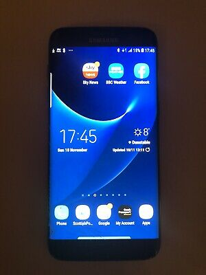 Samsung Galaxy S7 edge SM-G935 - 32GB - Black  (Three) Smartphone