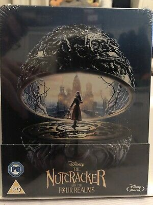 Disney The Nutcracker And The Four Realms Steelbook Blu Ray NEW/SEALED RARE