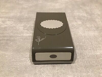 Stampin Up! Stanze Wellenoval ca. 5x3 cm
