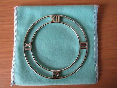 NEW w/box Tiffany & Co Sterling Silver Atlas Horizontal Bangle Bracelet Size S