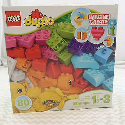 Lego 10848 Duplo My First Bricks open box Imagine & create 1.5 - 3 years old