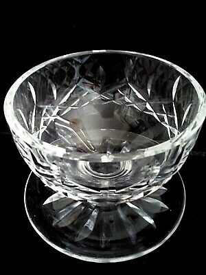 WATERFORD CRYSTAL Footed Dessert Bowl/Cup Ice Cream Lismore Pattern