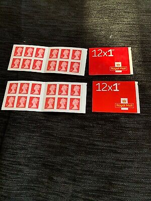 Genuine Brand New & Unused 48 x 1st Class Stamps (4 books of 12 stamps)