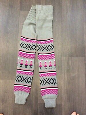 Pair of funky retro style leg warmers. 80's, fancy dress, dance, clubbercise.