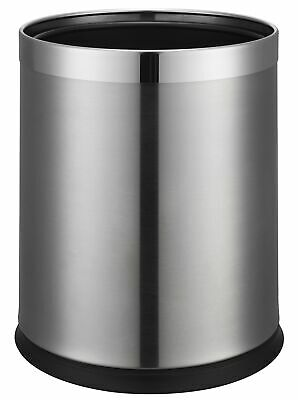 Thornton 9L Double Layer Bin - Brushed Steel (Case Qty 6)