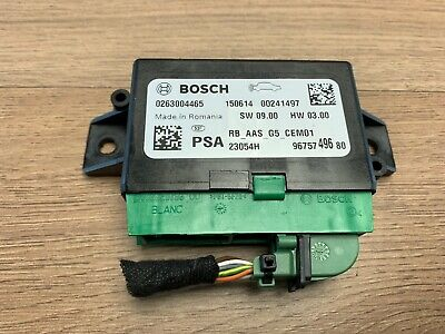 Peugeot 308 T9 Mk2 2015 Parking Control Unit 9675749680    #1A