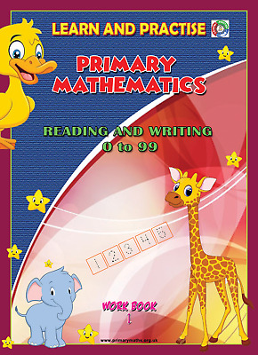 Learn By Practise, Key Stage 1, Workbook ~1, Read And Write Numbers