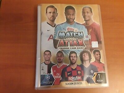 Match Attax Champions League 2019/20 Complete Base set (Read Info).