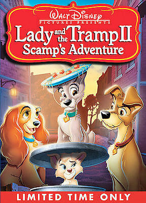 Lady and the Tramp II: Scamps Adventure (DVD, 2006) New & Sealed!