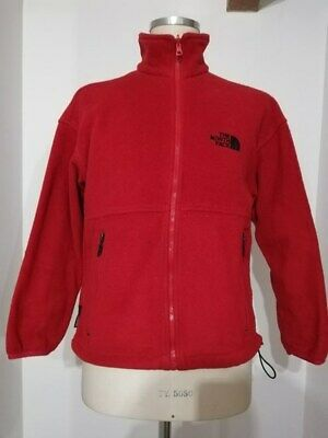 THE NORTH FACE 90's giacca pile red system trekking snow ice mont size XL