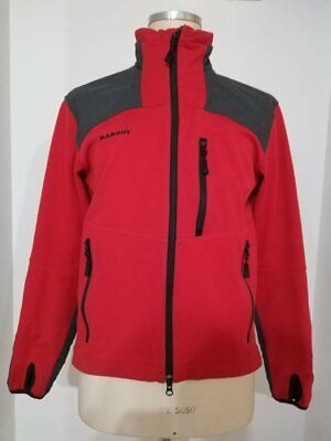 MAMMUT giacca pile red system trekking windstopper snow ice mont size M