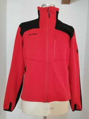 MAMMUT giacca pile red system trekking windstopper snow ice mont size L