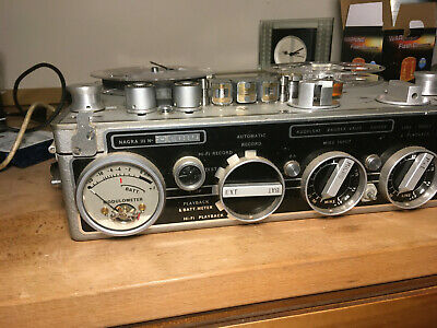 Kudelski Nagra III Reel to Reel Tape Recorder and accessories