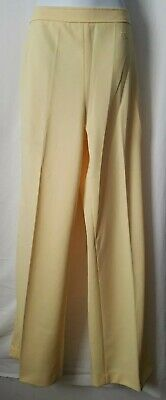 Vintage Givenchy Sport ~ Yellow Pull On Pants Slacks ~Size 16