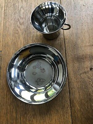 Georg jensen Alfredo the Twist Family Children's Cup and Plate Set