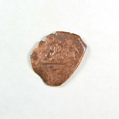 1600's Pirate Treasure Era Spanish Colonial Coin - Exact Coin 2935