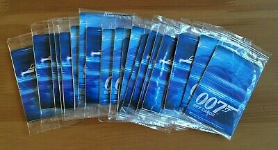 Danjaq 007 Spy Cards 2008 Trading Cards - Job Lot Of 20 Packs Of 4 Cards