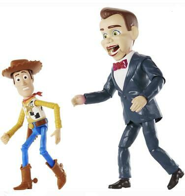 Disney Pixar Toy Story 4 Benson and Woody Figures Mattel CHOP