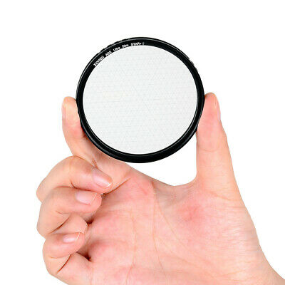 Zomei 82mm 4 Points Star Filter Cross Meter Word Snowflake for Cameras Lens