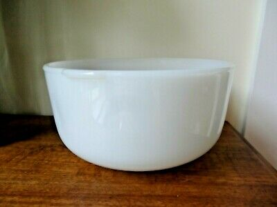 Vintage Sunbeam Mixmaster Large Milk Glass Bowl To Suit Model A12
