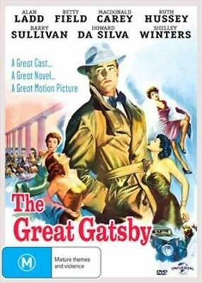 The Great Gatsby DVD (1949) New/Sealed All Region 0/NTSC