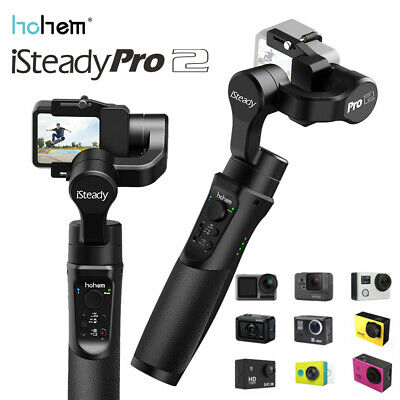 Upgraded hohem iSteady Pro 2 3-Axis Handheld Gimbal Stabilizer For GoPro 8/7/6/5
