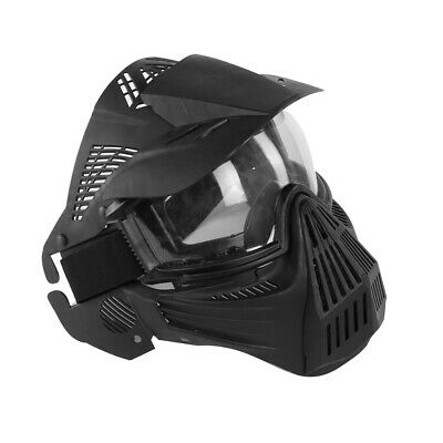Full Face Protective Safety with Goggles Mask Tactical CS Game Paintball Airsoft