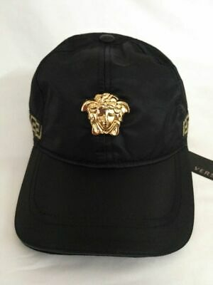 New Versace Logo Baseball Hat Adjustable Snapback Cap Unisex