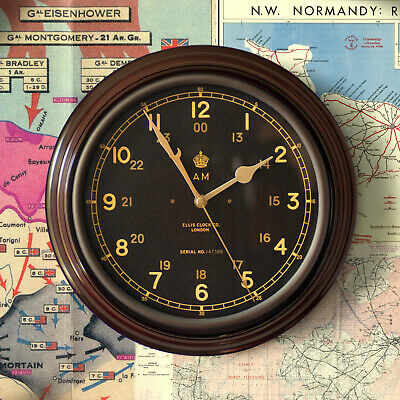 Royal Air Force Air Ministry Clock RAF WW2 Battle of Britain Operations Room 12""