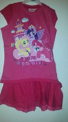 my little pony 2 piece outfit girls 2 years of age d,pink