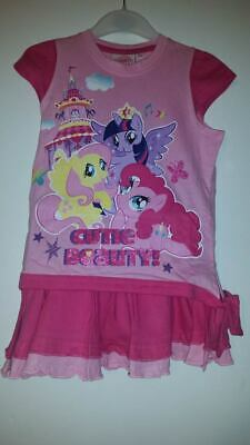 my little pony 2 piece outfit girls 2 years of age l,pink