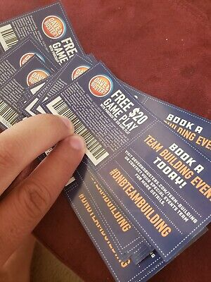 Dave and Busters 20 for 20 coupons