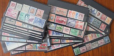 Ex Dealers Stock. Mint Commonwealth Collection On 28 Stockcards.