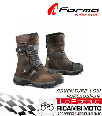 Forma Adventure Low  Marroni Stivali Corti Off Road Atv Quad Misura 41