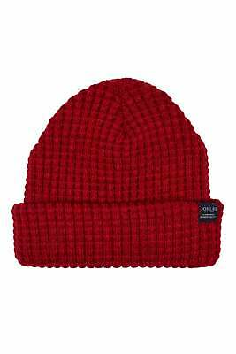 Joules Bamburgh Knitted Hat - Deep Red