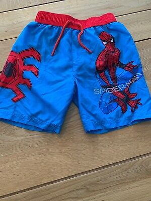 Spiderman Swimming Shorts Age 5-6