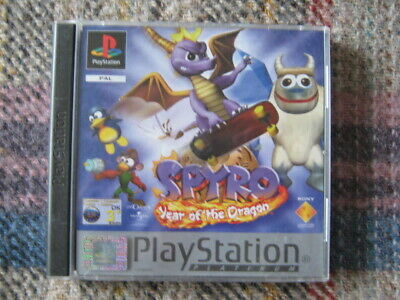 ps1 spyro; year of the dragon