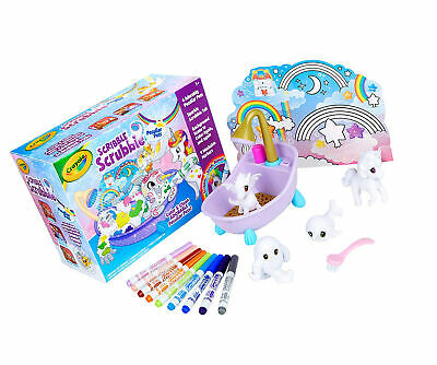 Crayola Scribble Scrubbie Peculiar Pets, Exclusive, Kids Toys, Gift For Kids, 6