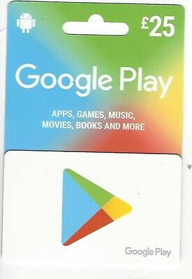 £25 Google Play Gift Card unwanted