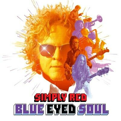 Simply Red Blue Eyed Soul CD New Pre Order 08/11/19