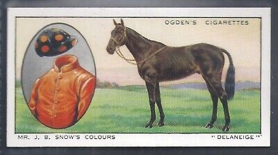 Ogdens-Prominent Racehorses Of 1933-#10- Top Quality Horse Racing Card!!!