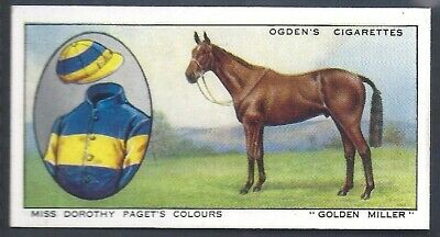 Ogdens-Prominent Racehorses Of 1933-#14- Top Quality Horse Racing Card!!!