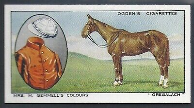 Ogdens-Prominent Racehorses Of 1933-#15- Top Quality Horse Racing Card!!!