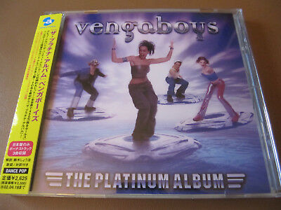 Vengaboys The Platinum Album Original Japan CD Bonus Tracks With Obi Sticker