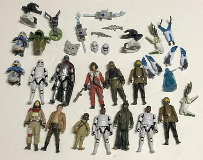 Star Wars The Force Awakens Tfa Lot Figures Weapons Accessories As Shown #2