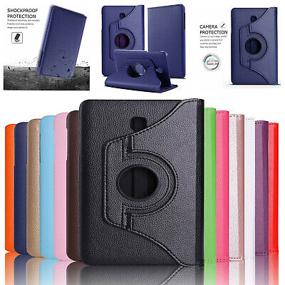 For Samsung Galaxy Tab A 8.0 SM-T387 T380 T350 Rotating Leather Folio Stand Case