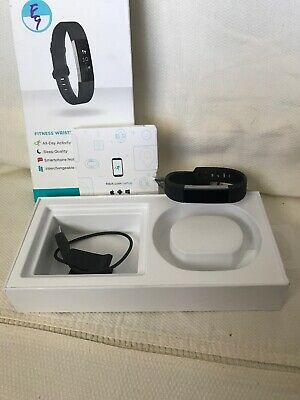 FITBIT ALTA Fitness Wristband FB406BKS Black Band Size Large