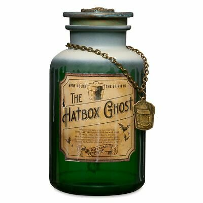 Disney Theme Parks Haunted Mansion Host A Ghost Spirit Jar - Hatbox Ghost - New